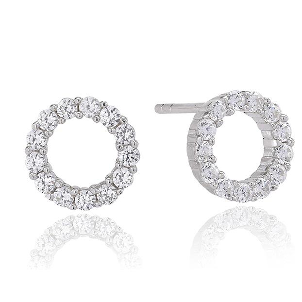 47d5e58ba Sif Jakobs Biella Uno Piccolo Silver Stud Earrings - SJ-E337-CZ