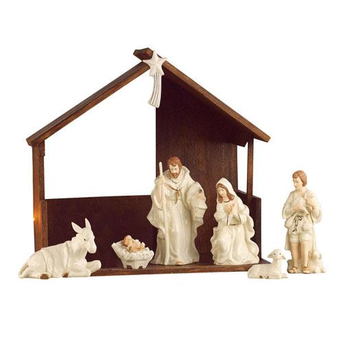 Belleek Living Classic Nativity Set 7249