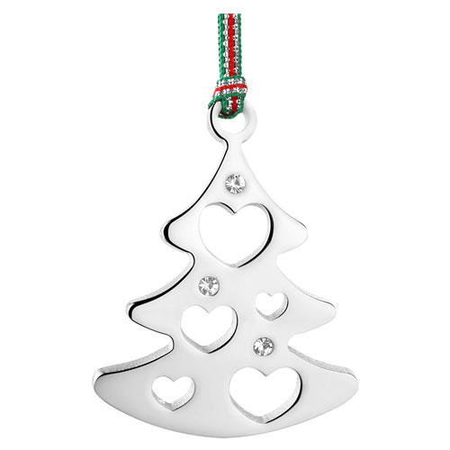 newbridge christmas tree with clear stones decoration j600