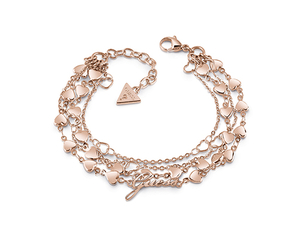 Guess rose gold plated bracelet