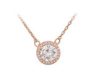 Tipperary Simple Cubic Zirconia Pendant and Chain ​