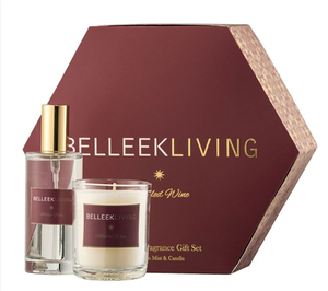 Belleek Living mulled wine and candle spray gift