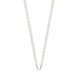 Ti Sento Milano 6mm White Pearl Chain Necklace (3752PW)