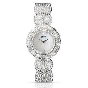 Seksy Ladies 'Elegance' Swarovski Crystal Bracelet Watch - 4851.37