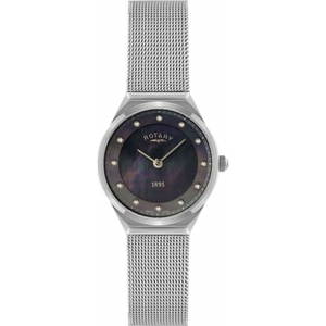 Rotary Ladies Silver Mesh Bracelet Watch LB02609/38