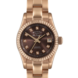 Rotary Les Originales Ladies Rose Gold Watch LB08153/16