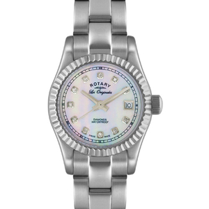 Rotary Ladies Les Originales Diamond Set Bracelet Watch - LB08150/07