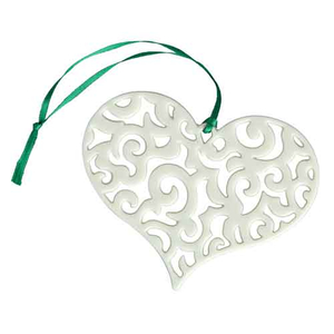 Belleek Barnardo's Heart Ornament (7542)