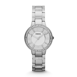 Fossil Ladies Virginia Diamond Bracelet Watch (ES3282)