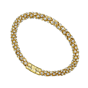 GUESS Ladies Glamazon Yellow Gold Tone Bracelet (UBB81333)