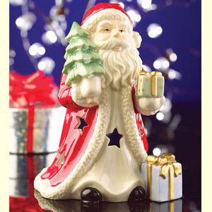 Belleek Living Santa Votive Candleholder (7312)