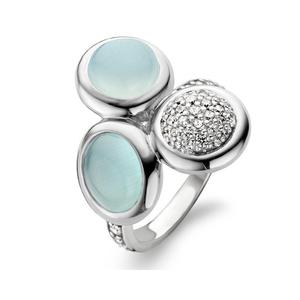 Ti Sento Sterling Silver Dress Ring - 12013AG