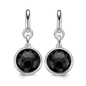 Ti Sento Black Stone Drop Earrings - 7678ZB