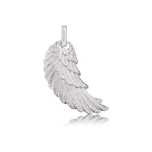 Engelsrufer Angel Whisperer Sterling Silver Medium Silver Wing Pendant (ERW-M)