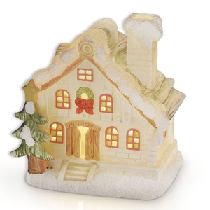 Newbridge Christmas House with Lights (FL85514)