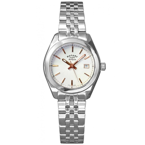 Rotary Ladies Les Originales Lausanne White Dial Watch - LB90110/06