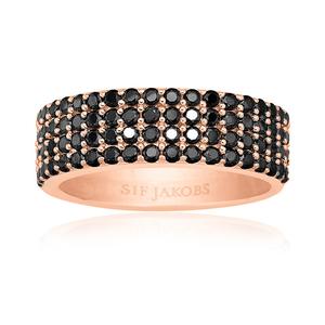 Sif Jakobs Corte Quattro Ring - SJ-R10764-BK(RG)