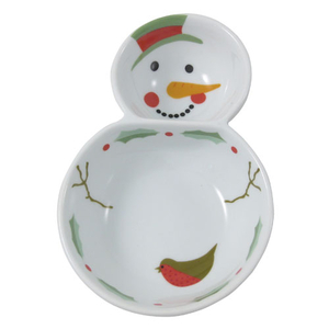 Aynsley Snowman Dipping Bowl (XMAS30602)