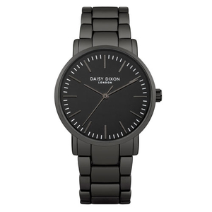 Daisy Dixon Ladies Kate Sleek Black 34mm Bracelet Watch (DD004UM)
