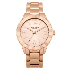 Daisy Dixon Ladies Lara Rose Gold Facet 38mm Bracelet Watch (DD014RGM)