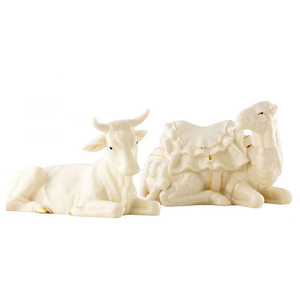 Belleek Living Manger Nativity Set (7256)