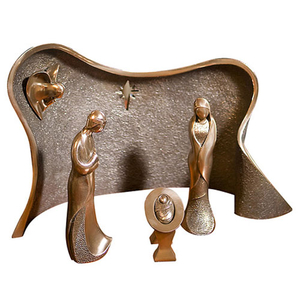 Genesis Nativity Crib Set - Four Piece (FF008)