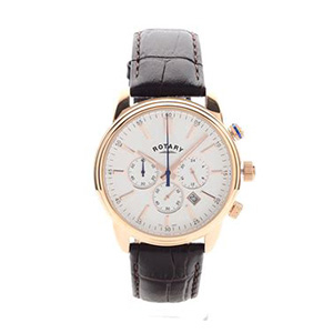 Rotary gents chronograph strap watch