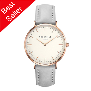 Rosefield The Bowery Rose Gold Plated Watch