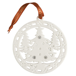 Belleek Living Christmas Forest Ornament (7378)