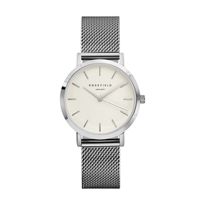 Rosefield The Tribeca Stainless Steel Bracelet Watch