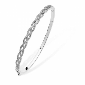 Tipperary Pave Wave Single Bangle