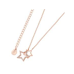 Tipperary Rose Gold Plated Interlocking Star Pendant ​