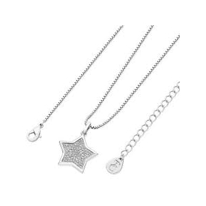 Tipperary Silver Plated Pave Star Pendant​