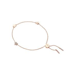 Tipperary Rose Gold Plated Stars Bolo Chain Bracelet