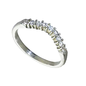 9 carat diamond wedding  band