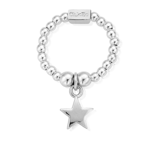 ChloBo Sterling Silver Ring With Star