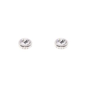 Ted Baker Silver Plated Sinaa Crystal Stud Earrings