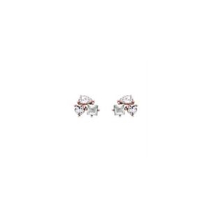​Ted Baker Rose Gold Plated Cubic Zirconia CARLENN Candy Studs