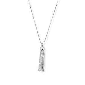 ChloBo Sterling Silver Tassel Pendant And Chain