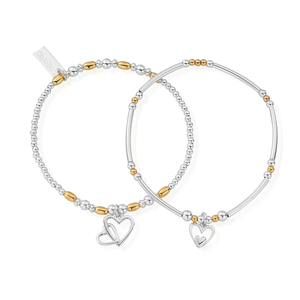 ChloBo Gold and Silver Double Devotion x2