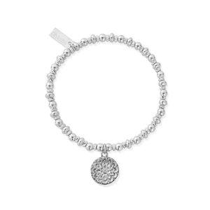ChloBo Didi Sparkle Moonflower Bracelet