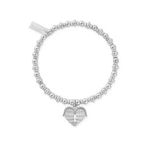 ChloBo Didi Sparkle Heavenly Heart Bracelet