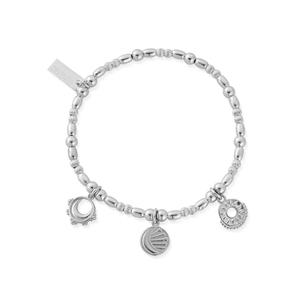ChloBo Sterling Silver Triple Skies Bracelet
