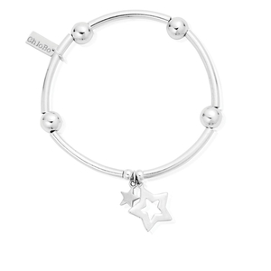 ChloBo Noodle Ball Double Star Bracelet