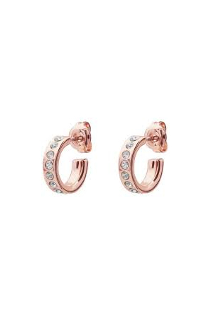 Ted Baker Rose Gold Plated SEENI Mini Cubic Zirconia Hoops