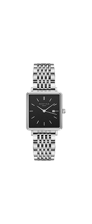 Rosefield The Boxy Steel Bracelet Watch