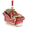 Belleek Living Santa's Sleigh Tree Ornament
